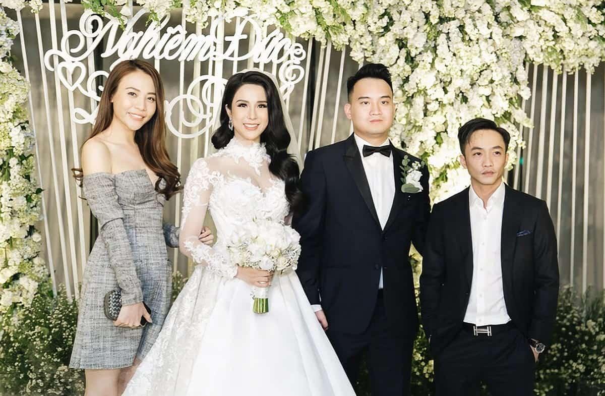 -Nhà chồng Diệp Lâm Anh sở hữu nhiều cửa hàng kinh doanh và bất động sản