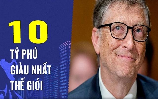 Ai là người giàu nhất thế giới?