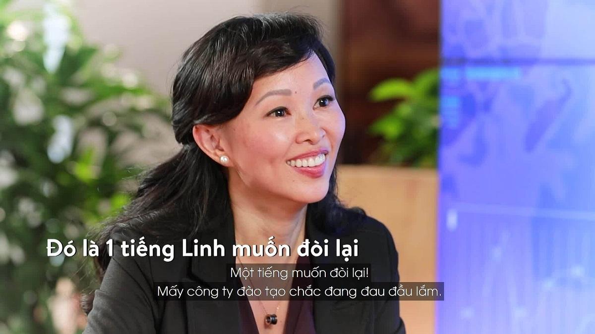 Những chia sẻ thú vị của Shark Linh trên show Shark Tank